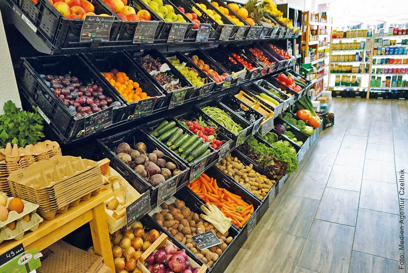 Topi Obst und Gemüse
